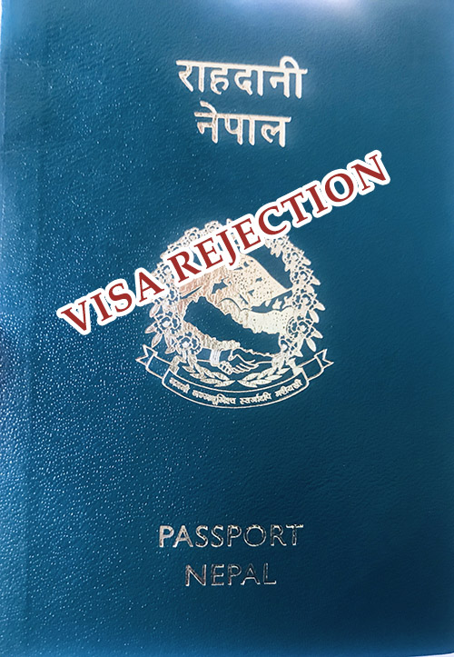 SPAIN VISA REJECTION